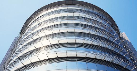 vitres teintées bâtiment, film solaire fenêtre